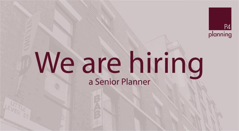 We Are Hiring a Senior Planner (002)